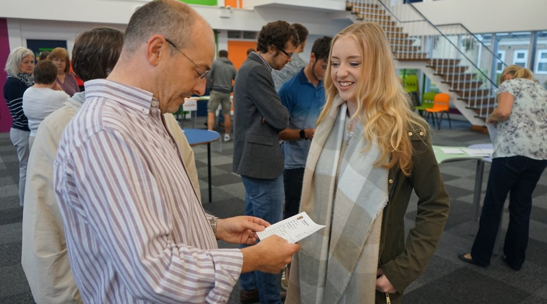 GCSE results day - August 2016