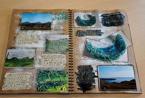 Landscape sketchbook 1