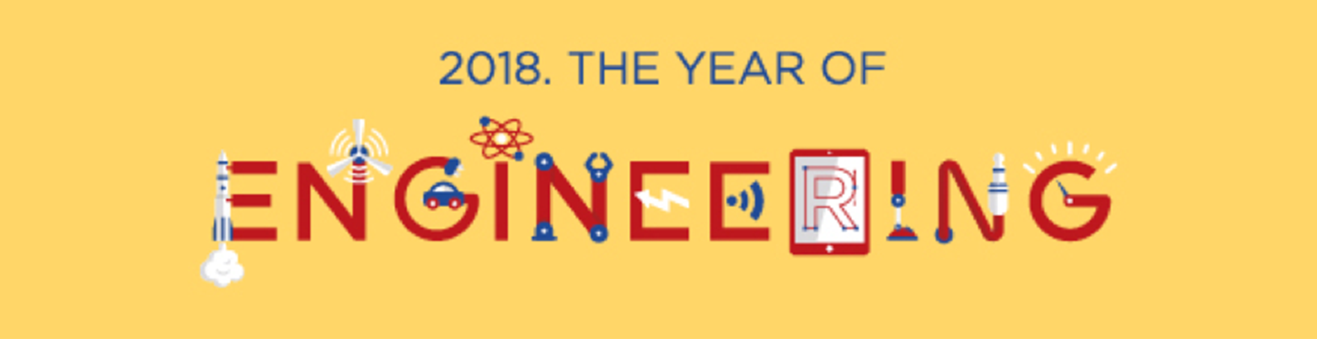 2018 The Year of Engineering logo