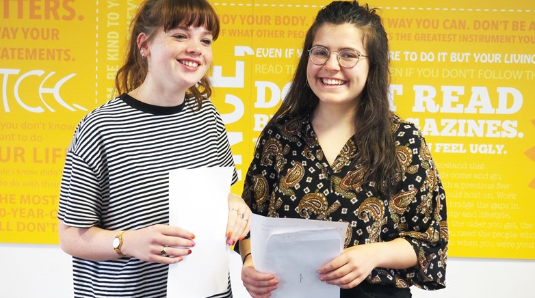 Teesdale A Level Results Day 2018
